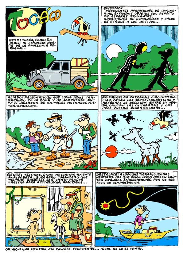Comic Voces del Misterio 006 - Tucam