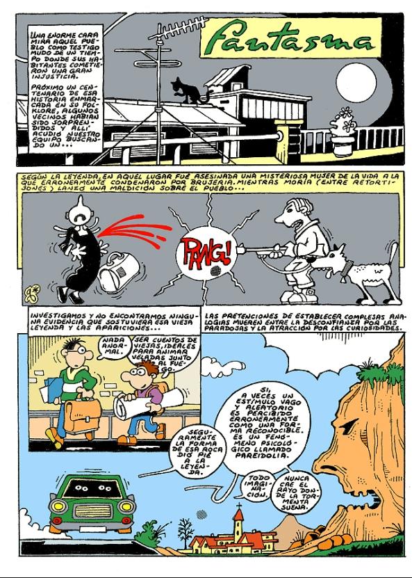 Comic Voces del Misterio 007 - FANTASMA
