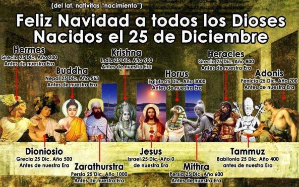 Dioses de la Navidad