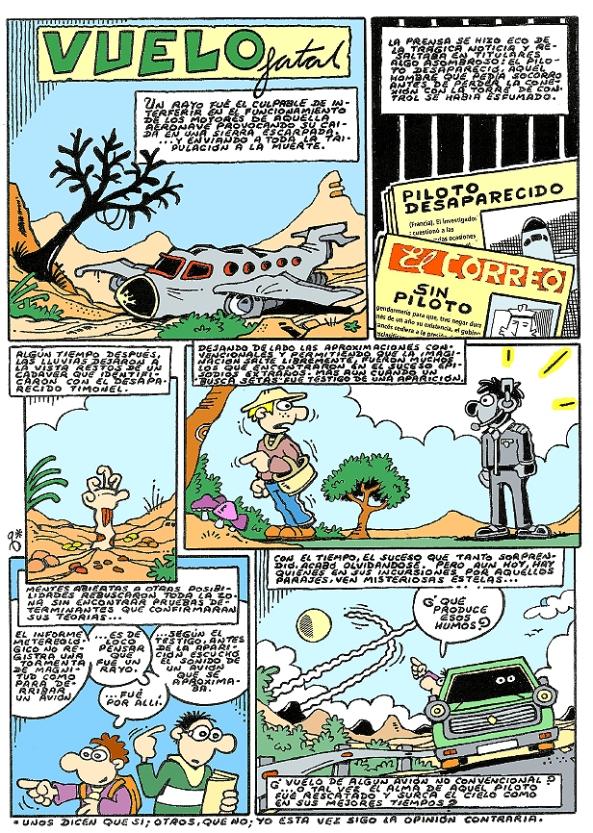 Comic Voces del Misterio 011- Vuelo fatal