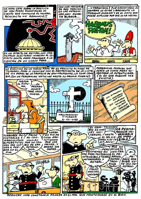Comic Voces del Misterio 013 - HABEMUS PAPAM