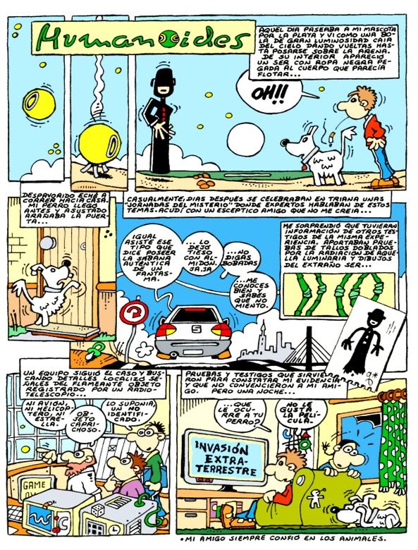 Comic Voces del Misterio 014 - El Humanoide