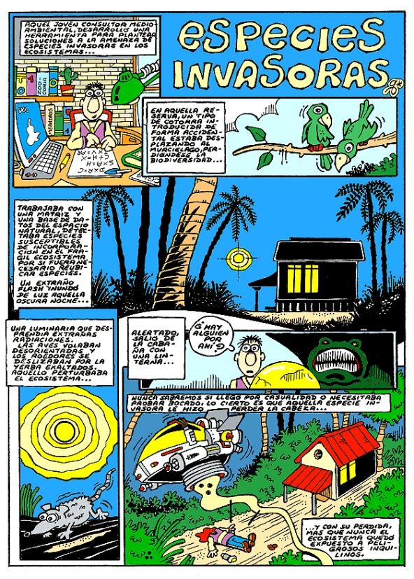 Comic Voces del Misterio 016 - Especies Invasoras