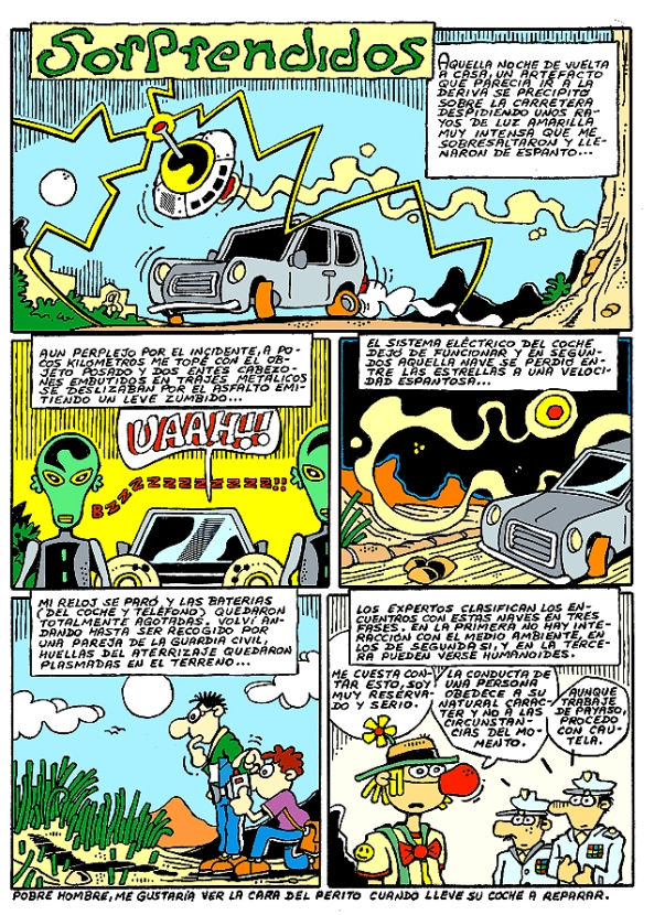 Comic Voces del Misterio 020 - Sorprendidos