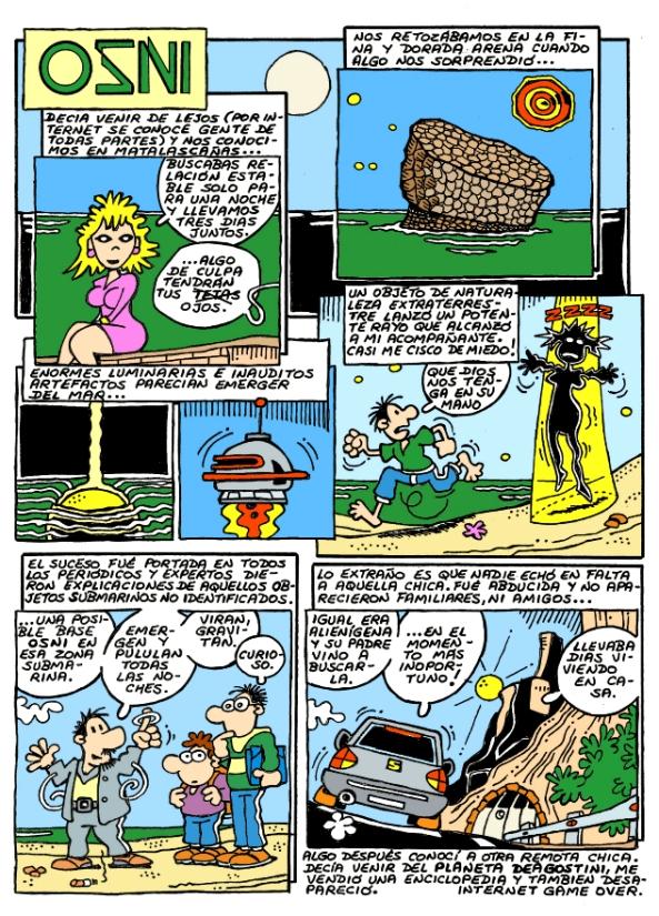 Comic Voces del Misterio 022 - OZNI
