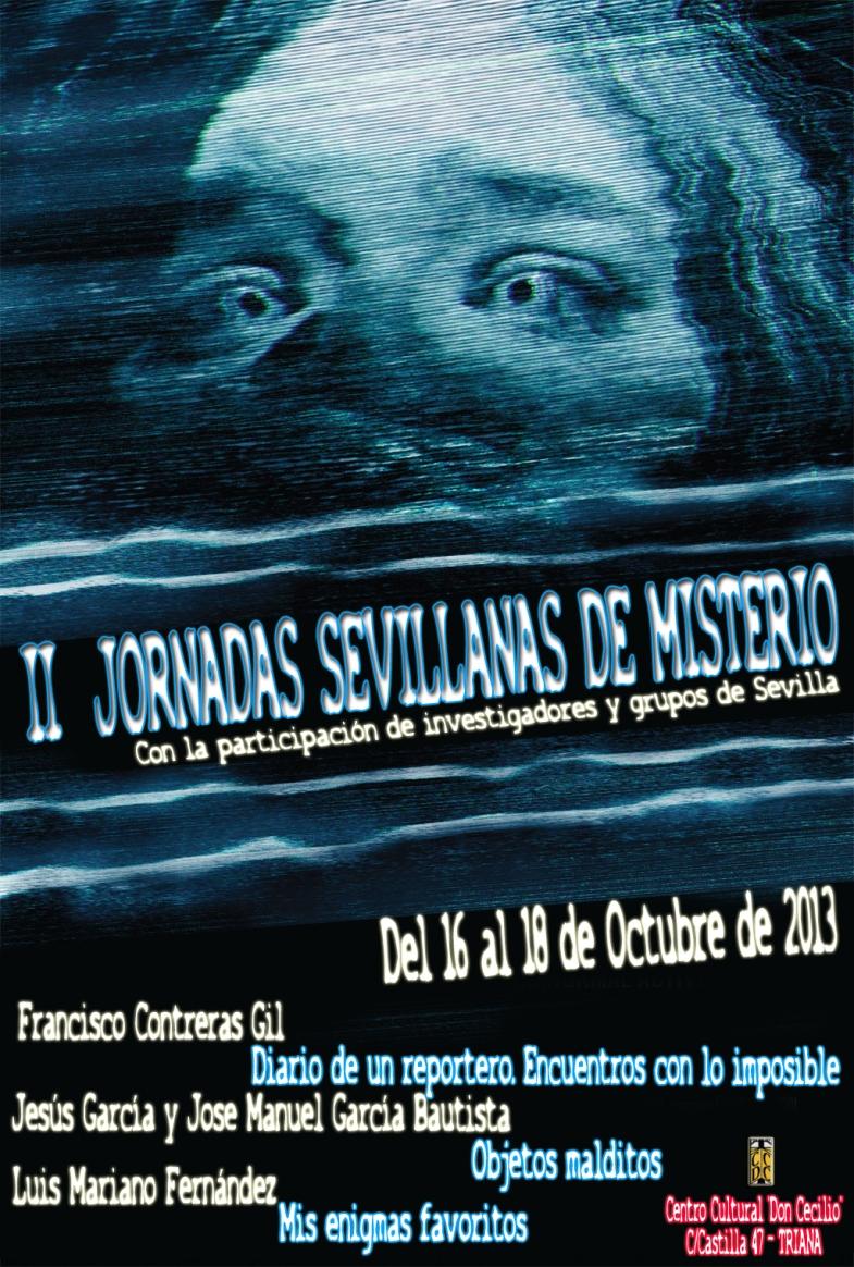 IIª Jornadas Sevillanas de Misterio - CCDC
