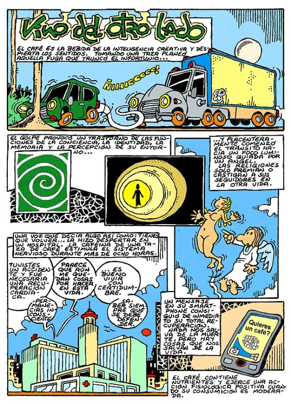 Comic Voces del Misterio 024 - Vino del otro lado