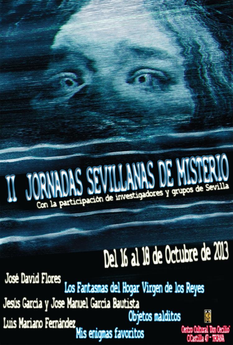 II Jornadas Sevillanas de Misterio - CCDC
