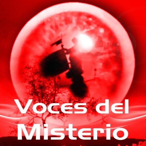 "Logotipo ""Voces del Misterio"" (diseño: Paranormalia)"