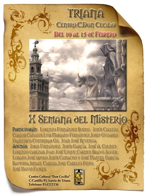 Cartel X Semana del Misterio - OFICIAL