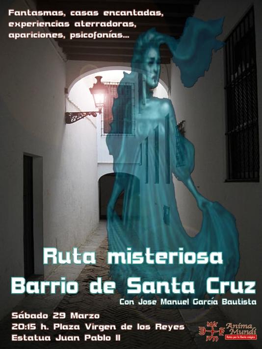 Cartel - RUTA MISTERIOSA por el Barrio de Santa Cruz