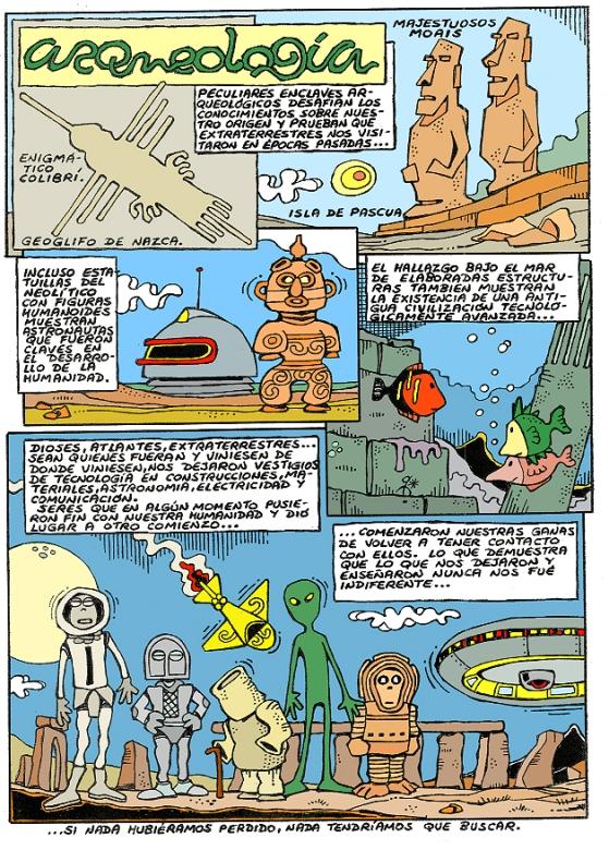 Comic Voces del Misterio 035 - Arqueología prohibida