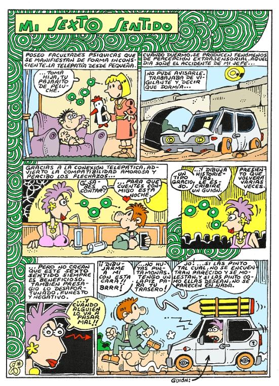 Comic Voces del Misterio 037 - Mi sexto sentido