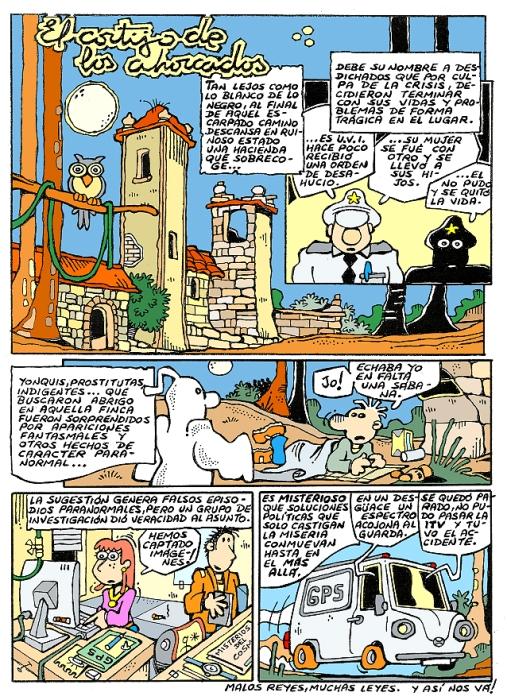 Comic Voces del Misterio 039 - El Cortijo de los Ahorcados