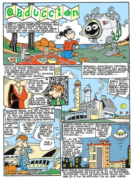 Comic Voces del Misterio 042 - Abducción