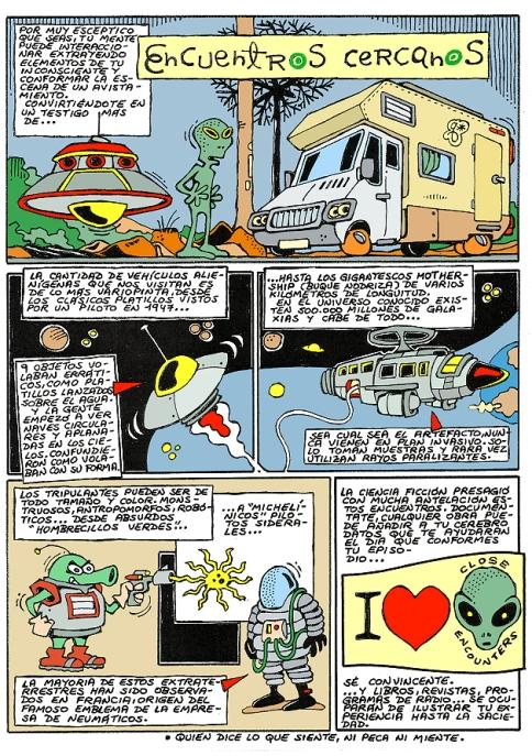Comic Voces del Misterio 043 - Encuentros cercanos