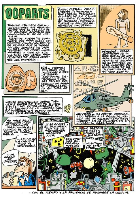 Comic Voces del Misterio 045 - OOPARTs