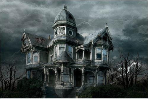 Resultado de imagen de casa encantada