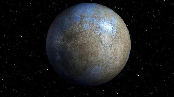 ceres - El planeta enano Ceres podría albergar vidaextraterrestre.