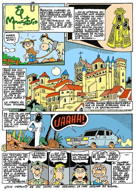 Comic Voces del Misterio 049 - El Monasterio