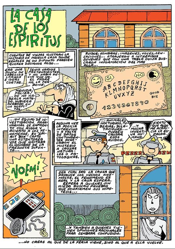 Comic Voces del Misterio 051 - La casa de los espíritus