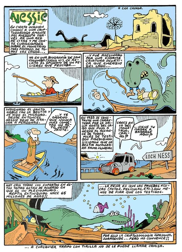 Comic Voces del Misterio 057 - Nessie