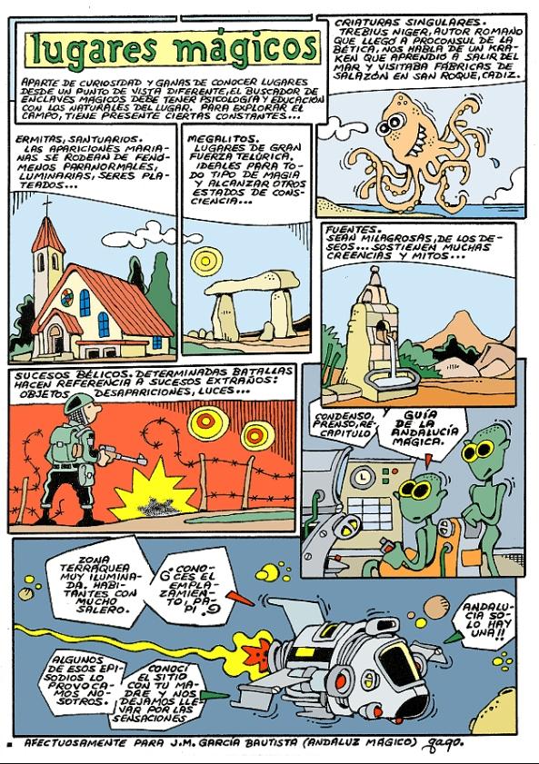 Comic Voces del Misterio 060 - Guia de la Andalucia Magica