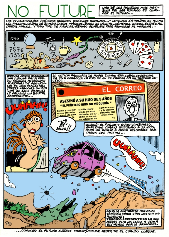 Comic Voces del Misterio 062 - NO FUTURE