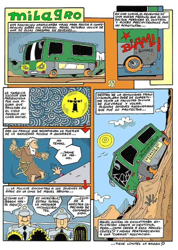 Comic Voces del Misterio 064 - Milagro