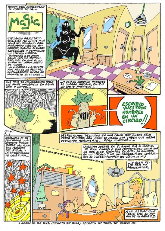 Comic Voces del Misterio 065 - Magia