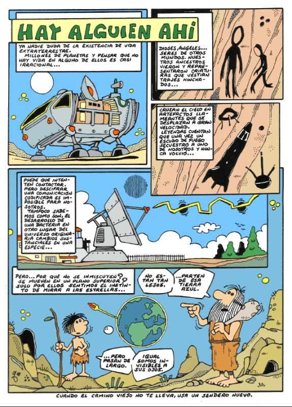 Comic Voces del Misterio 067 - Hay alguien ahi