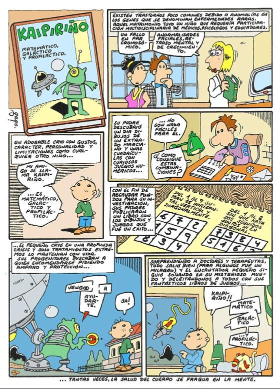 Comic Voces del Misterio 069 - Kaipiriño