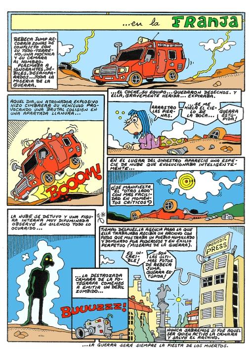 Comic Voces del Misterio 070 - En la franja
