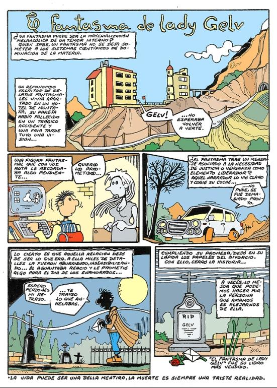 Comic Voces del Misterio 073 - El fantasma de Lady Gelv