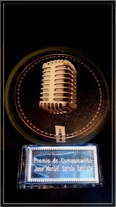Premio de Comunicación Jose Manuel García Bautista