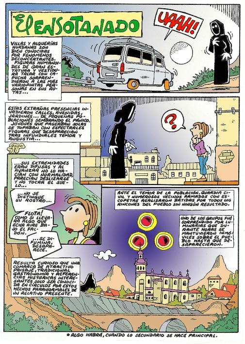 Comic Voces del Misterio Agosto - El Ensotanado