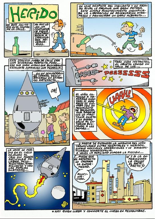 Comic Voces del Misterio 79 - Herido